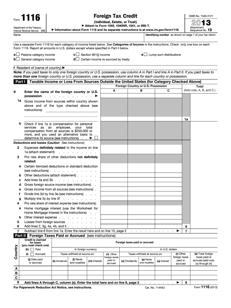 Get And Sign 1116 Form