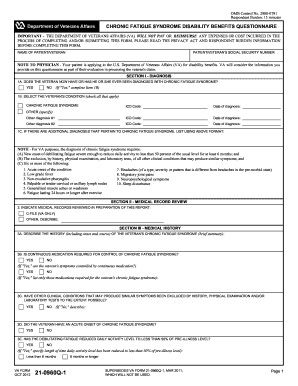 Va form 21 0960q 1 - Fill Out and Sign Printable PDF