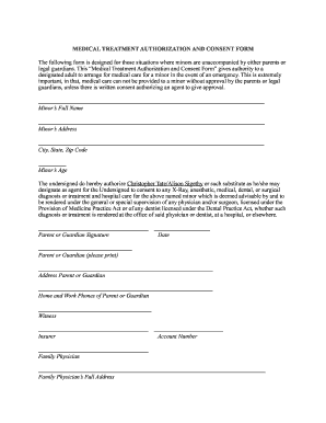 photo about Printable Child Travel Consent Form known as Professional medical consent sort for boy or girl touring without the need of mom and dad