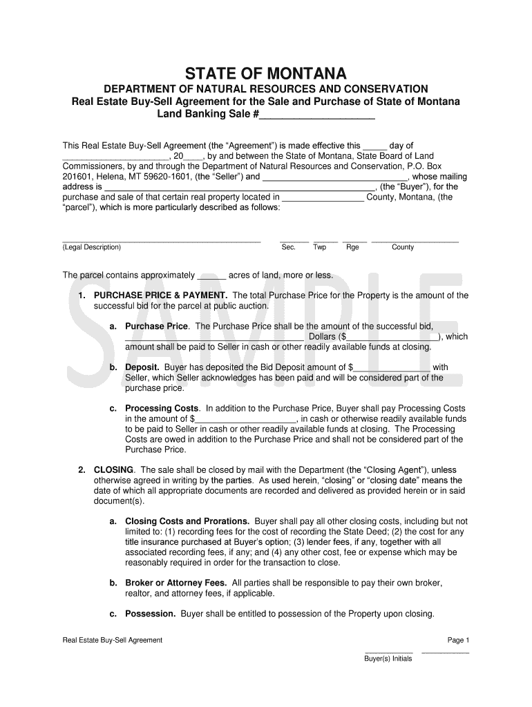 Buy/Sell Agreement Template from www.signnow.com