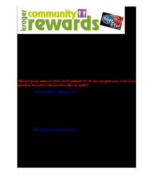 photo regarding Kroger Printable Application named Kroger neighborhood gains flyer.document variety - Fill Out and Indicator