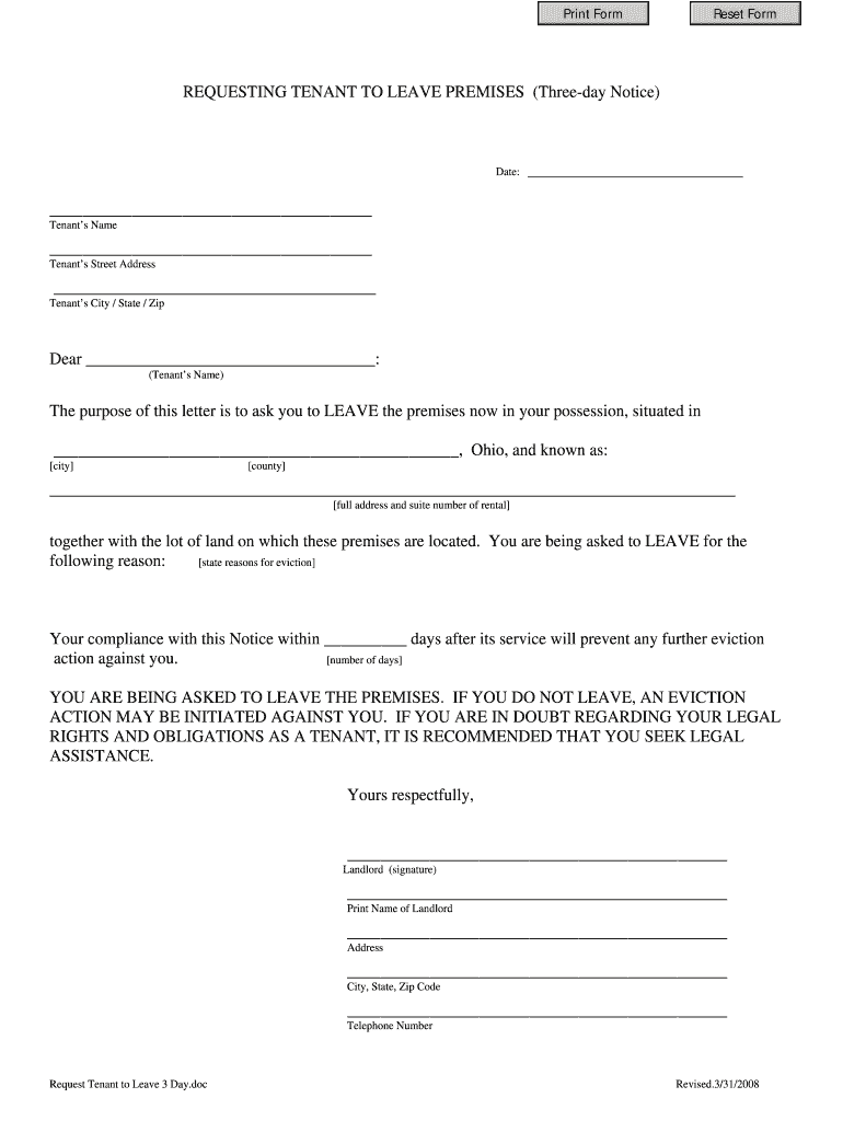Get And Sign Summit County Ohio Eviction Forms 2008-2021