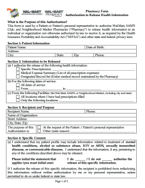 image relating to Walmart Printable Application referred to as Walmart pharmacy permission in the direction of launch exercise content material