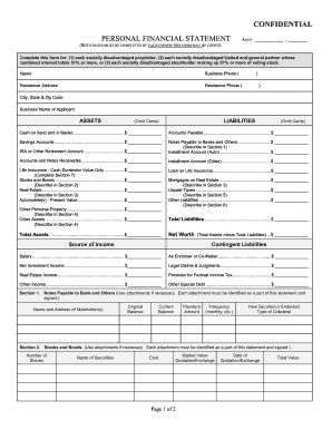 picture relating to Printable Financial Statements named Metropolis and county of denver person monetary claims type