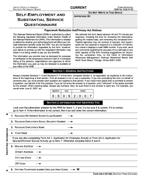Get And Sign OMB No 3220-0138 Form - Fill Out and Sign
