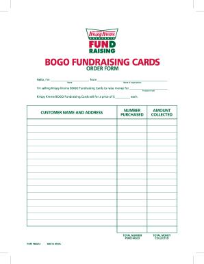 krispy kreme order form pdf  Get And Sign BOGO Card Order Form 6 Cropmarks - Fill Out ...