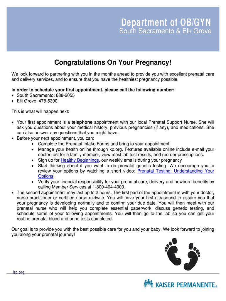 Proof Of Pregnancy Form Fill Out And Sign Printable Pdf Template Signnow