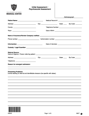 27cbf529fb3 Get And Sign Initial Assessment Form