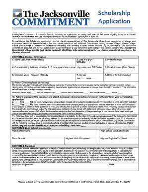 13656138 Free Printable Academic Scholarship Application Form on dollar tree, california rental, blank employment,