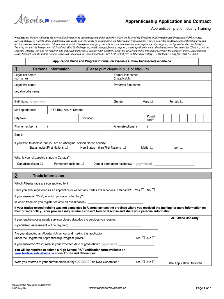 Get And Sign Where To Apprentice For Picker Alberta 2013-2021 Form