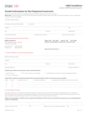 Hsbc bank transfer form - Fill Out and Sign Printable PDF