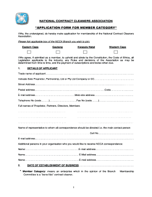 Get And Sign Cleaning Certificate Application Form