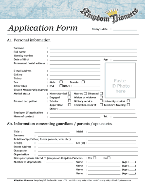 picture regarding Free Church Forms Printable known as Free of charge Church Subscription Styles Template
