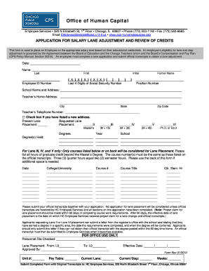 Cps step adjustment forms - Fill Out and Sign Printable PDF Template