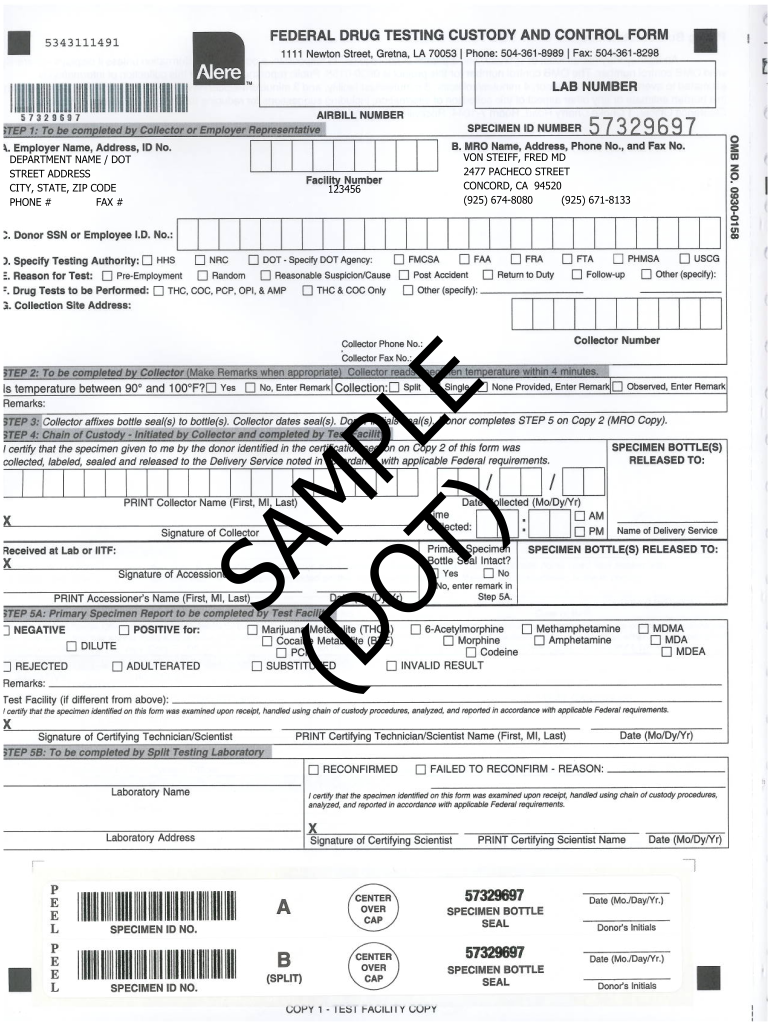 Get And Sign Federal Custody And Control Form Electronic