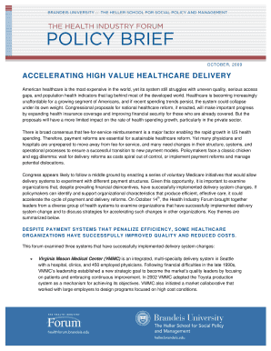 Policy Brief Template Form Fill Out And Sign Printable Pdf