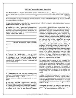 Rental Lease Agreement Word Template Form Fill Out And Sign