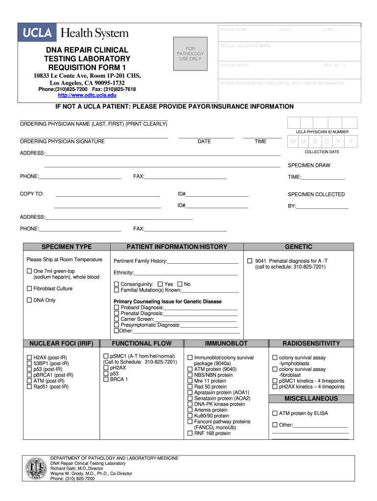Get And Sign Dna Test Pdf Forms