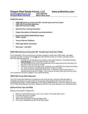 Oref 082 Private Well Addendum Form Fill Out And Sign Printable