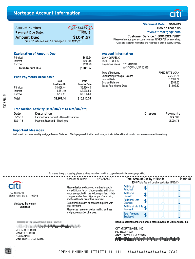 Citibank Mortgage Application Form Fill Out And Sign Printable Pdf Template Signnow
