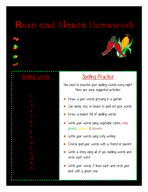 Get And Sign Rosa And Blanca Reading Street Pdf Form