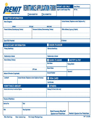 I remit online form - Fill Out and Sign Printable PDF