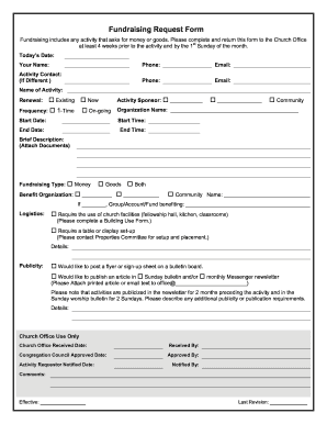 photo about Free Church Forms Printable known as Fundraising Check with Style - Totally free Church Kinds - Fill Out and