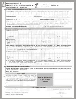 Kyc form - Fill Out and Sign Printable PDF Template   SignNow