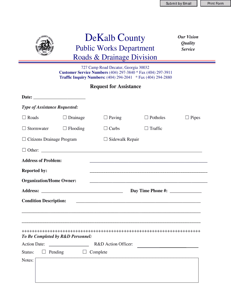 Get And Sign Dekalb County Ga Burial Assistance Form