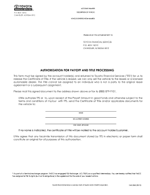 Toyota Form Finance Fill Out And Sign Printable Pdf Template Signnow