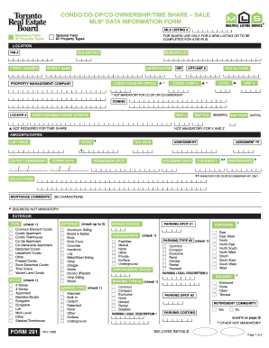 Mls data information form fillable pdf - Fill Out and Sign Printable