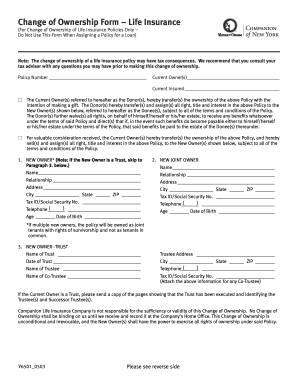 Mutual omaha ownership form - Fill Out and Sign Printable