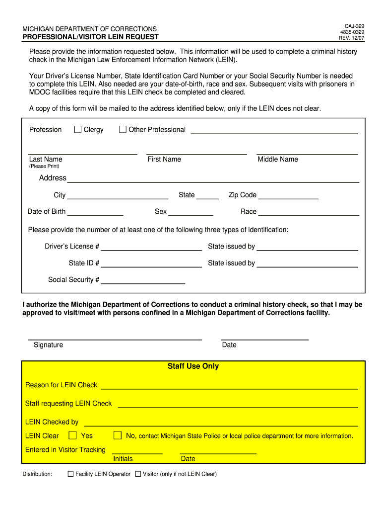 Get And Sign Caj 329 2007-2021 Form