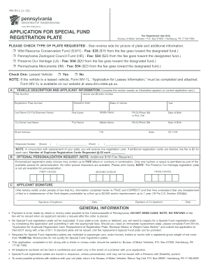 graphic regarding Printable Mv-1 Form, Pennsylvania named PennDOT Sort MV-911 - dmv country pa - Fill Out and Indicator
