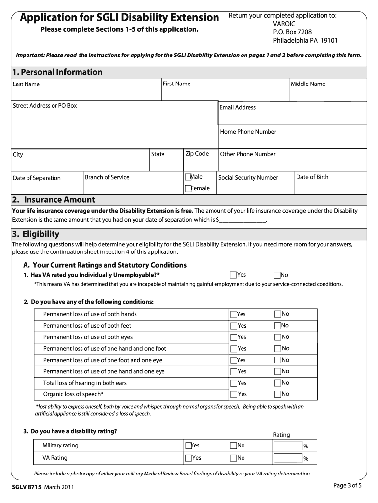 Get And Sign Disability Extension 2010-2021 Form