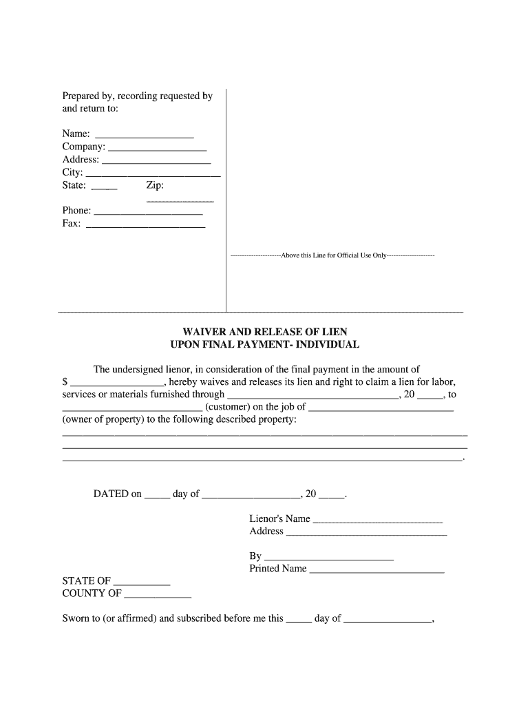Get And Sign Payment Release Form
