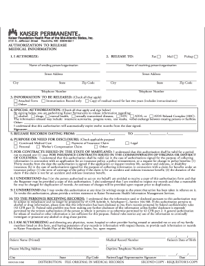 Medi cal to kaiser form - Fill Out and Sign Printable PDF