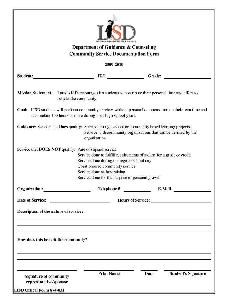 Get And Sign Get  Laredoisd 2009-2021 Form