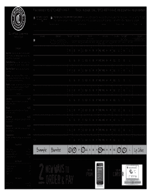 image about Chipotle Menu Printable named Chipotle menu template style - Fill Out and Indicator Printable