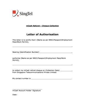 Letter sample redemption Letter of