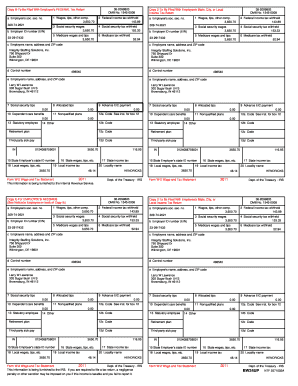 graphic regarding W 2 Forms Printable identified as 2008 w 2 styles printable - Fill Out and Indication Printable PDF