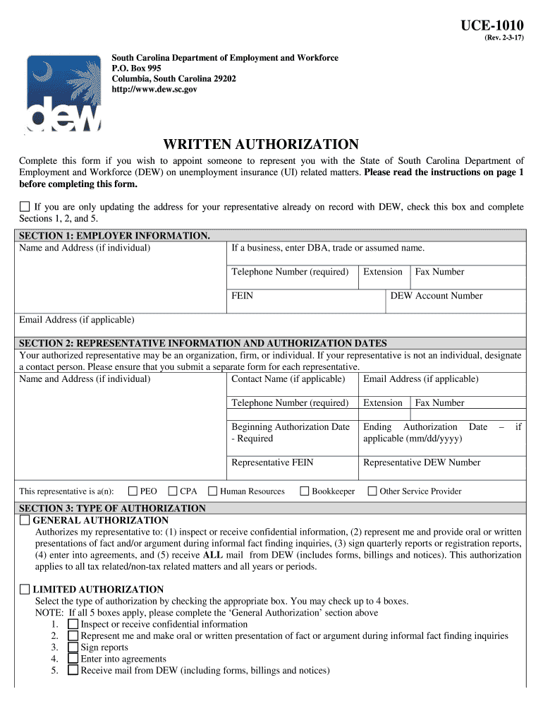 Get And Sign Uce 1010  Form 2015-2021