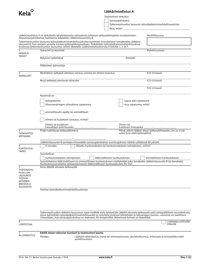Get And Sign Sv6 Lomake Form
