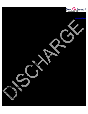 graphic regarding Printable Hospital Discharge Forms named Clinic discharge style within just high definition - Fill Out and Signal Printable