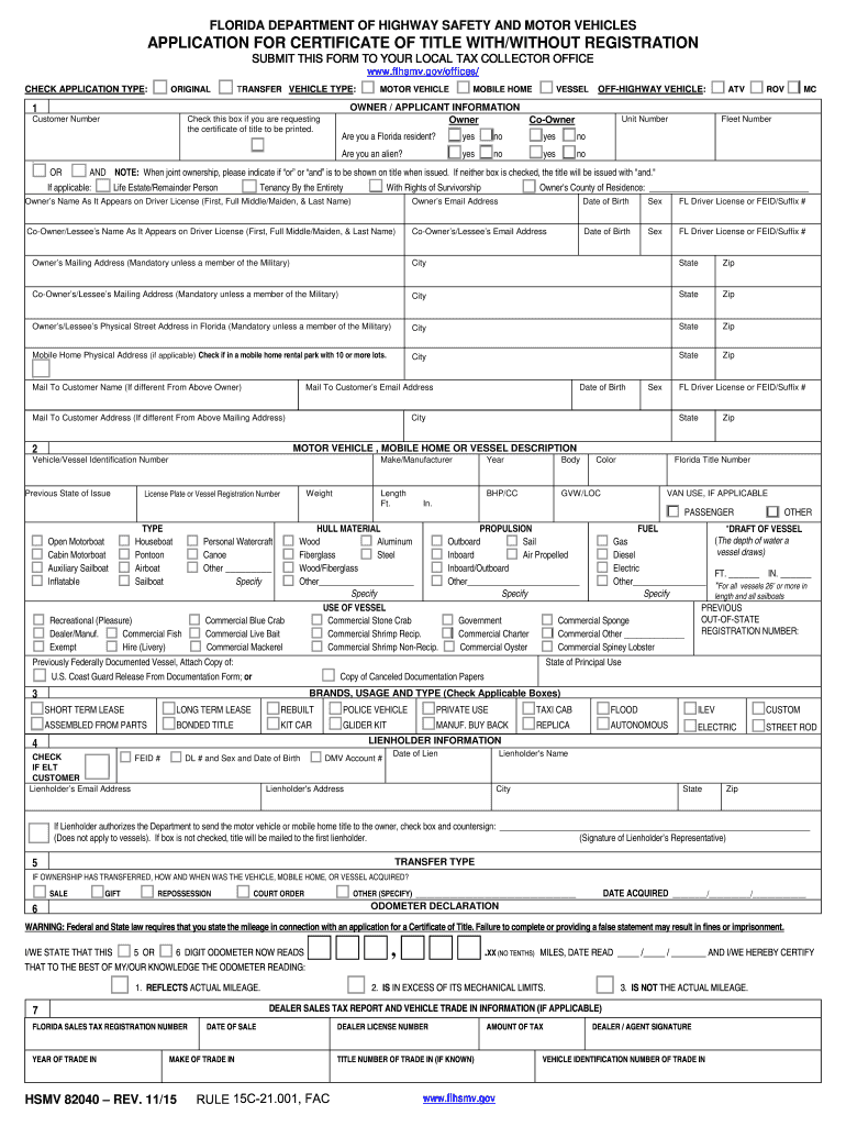 Hsmv 82041 - Fill Out and Sign Printable PDF Template | signNow