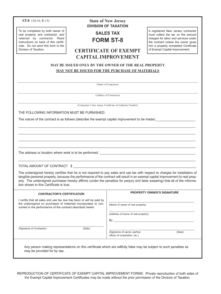 Get And Sign Form St8 2016-2021