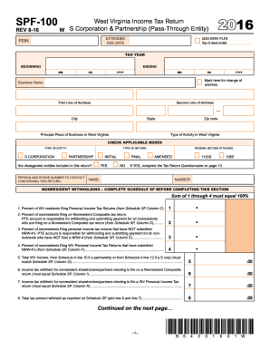 Form spf 100 2016-2019 - Fill Out and Sign Printable PDF