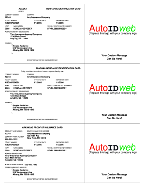Get And Sign Download Auto Insurance Card Template
