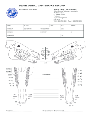 Get And Sign Beva-dental-chart-for EVDC Website - 176 32 230 Form