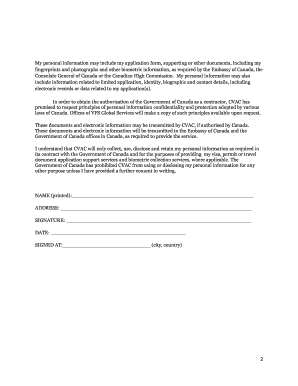 Vac consent forms canada - Fill Out and Sign Printable PDF Template